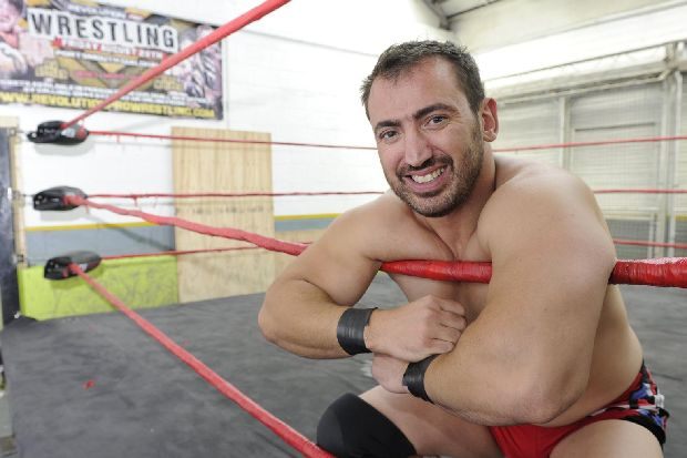 BIG READ: Wrestling star Andy is just a big softy - The News