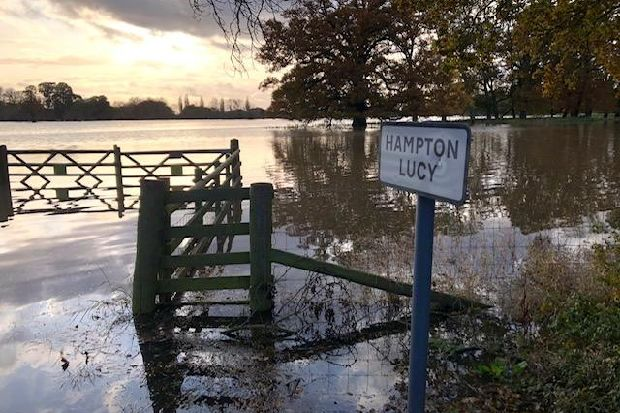 In pictures: More of your floods photos around Leamington and Warwick - Warwick Courier