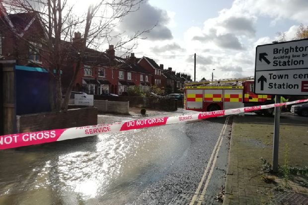 Major Horsham flood: Southern Water issue update - West Sussex County Times