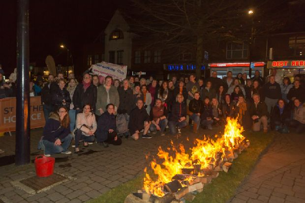 Horsham hospice seeks brave 'soles' to walk across fire - West Sussex County Times