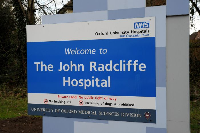 The John Radcliffe Hospital, Oxford. NNL-190219-191302009