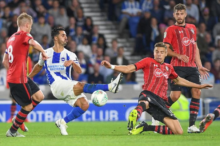 44f73d3e47bf Action from Albion s Carabao Cup clash with Southampton last month. Picture  by PW Sporting Photography
