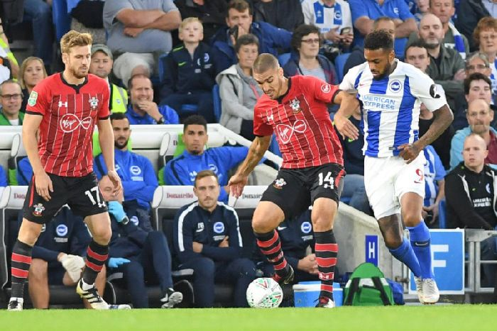 9a807289fb5f Action from Albion s Carabao Cup match with Southampton last month. Picture  by PW Sporting Photography