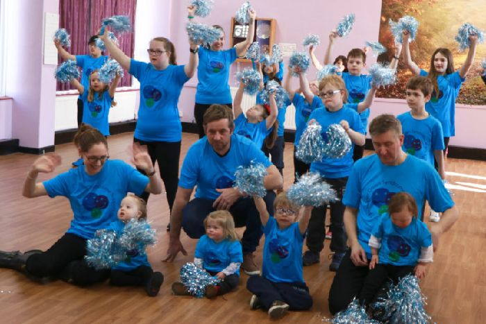 VIDEO: Children star in dance video for World Down Syndrome Day