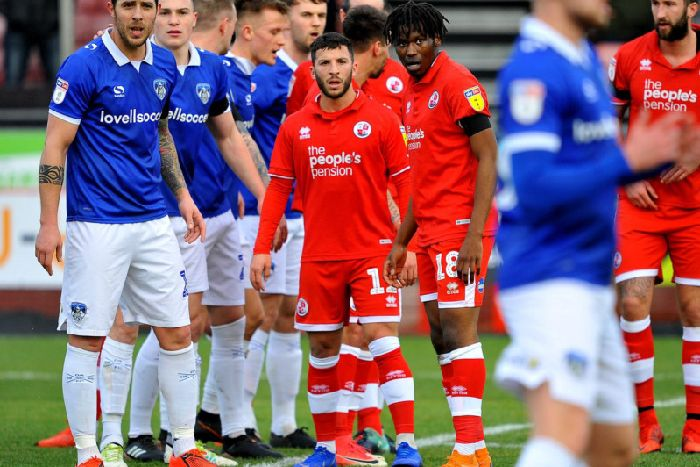 Crawley Town are back at square one but Manchester United legend