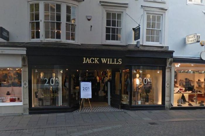 What is the future for Gatwick's Jack Wills store now Mike Ashley