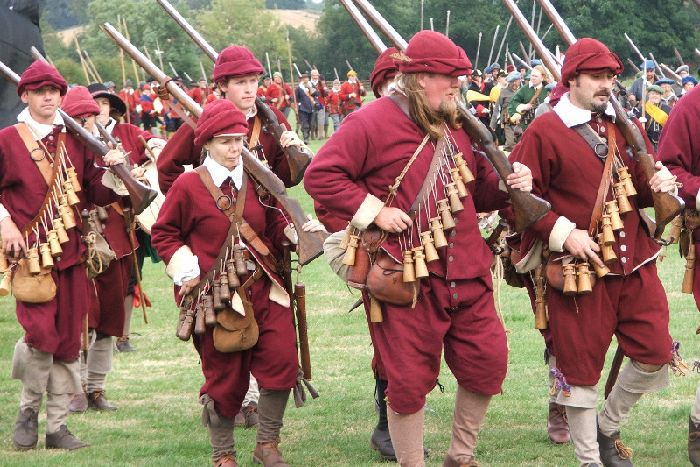 Naseby is gearing up ready to recreate historic battle - Daventry