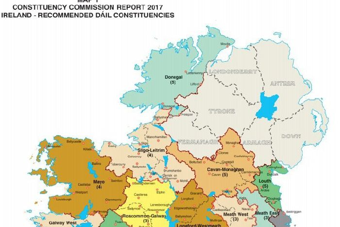 Donegal On Map Of Ireland.Middleton Laments Donegal Senator S Over Reaction To Use Of