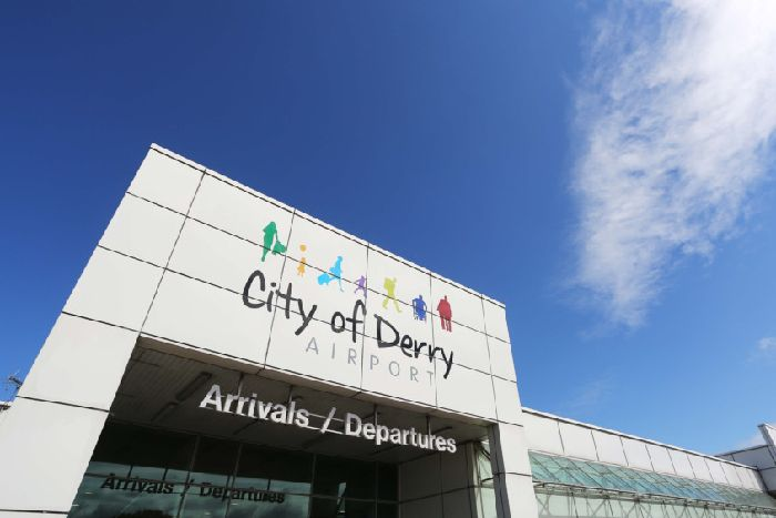 Electrical Burning Smell City Of Derry Airport Lorcan Doherty Photography