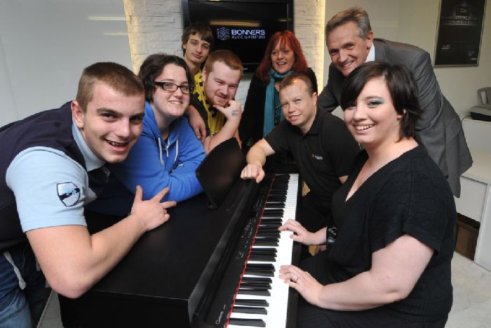 Charlie's scoops a new keyboard in Herald competition - Eastbourne