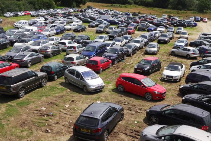 COUNTY NEWS: Shocking photos of unattended cars as police
