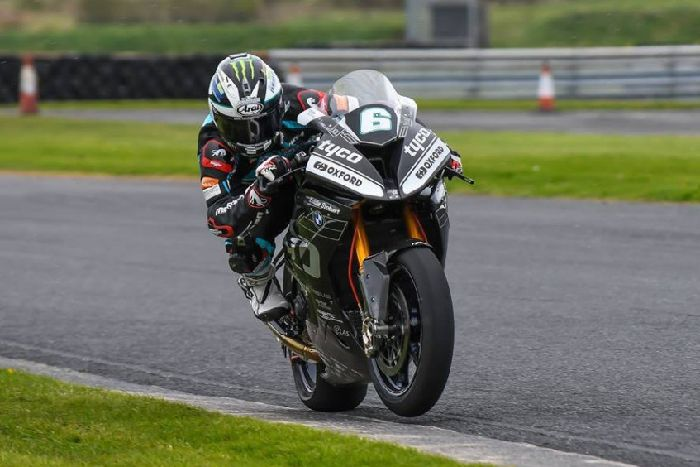PICTURES: Michael Dunlop tests Tyco BMW at Kirkistown - Belfast News