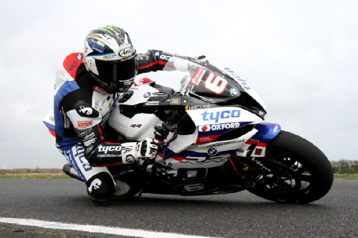 FIRST PICTURES: Michael Dunlop tests new Tyco BMW at Kirkistown