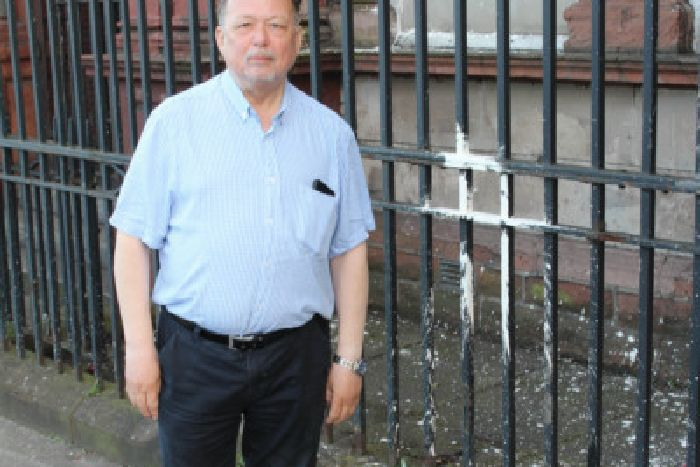 Historic Orange hall at interface is targeted in sectarian hate crime