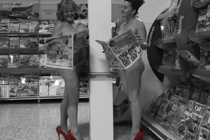 36c050f9936a Kettering Tesco staff raise more than £2,000 with charity calendar ...