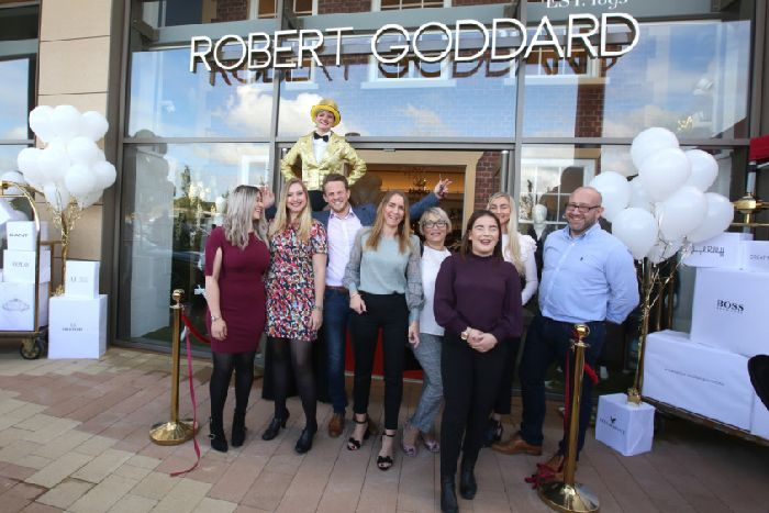 7d03bbd1df659f The official opening of the Robert Goddard store at Rushden Lakes last year