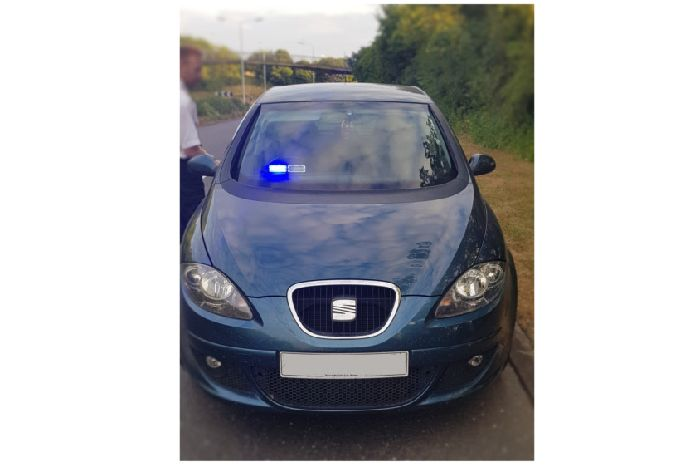 Fake police officer used 'novelty' flashing blue lights to pull