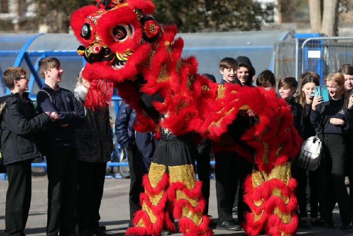 Gosport students celebrate Chinese New Year - The News