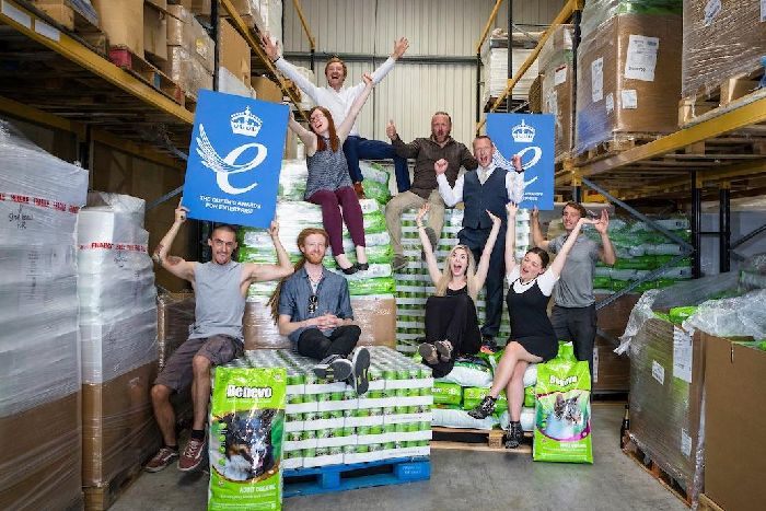 Vegan Pet Food Firm In Havant Gets Top Royal Honour The News