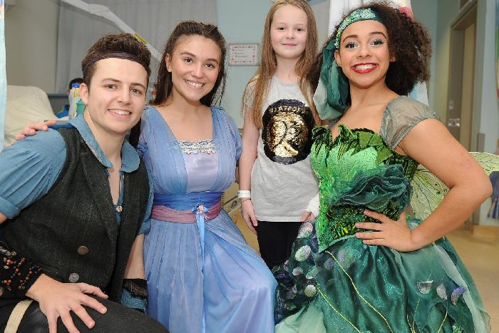 Children at QA Hospital enjoy 'magical' visit from cast of New