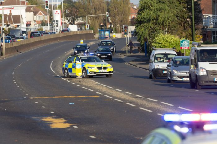 Motorcyclist airlifted to hospital after Southwick collision