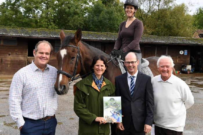 Building work starts on new £3 7 million horse-riding centre near