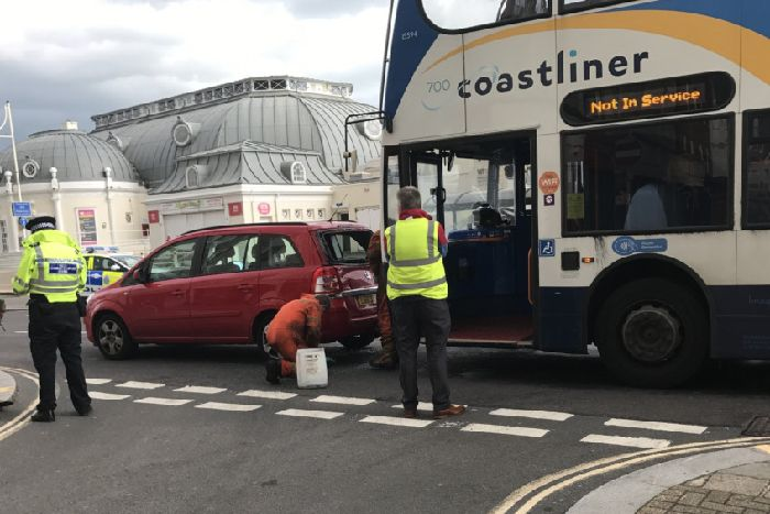 Collision On Worthing Seafront