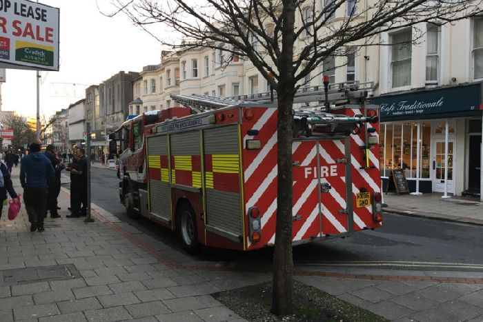 480dc6248c Two fire engines in Worthing town centre - Worthing Herald