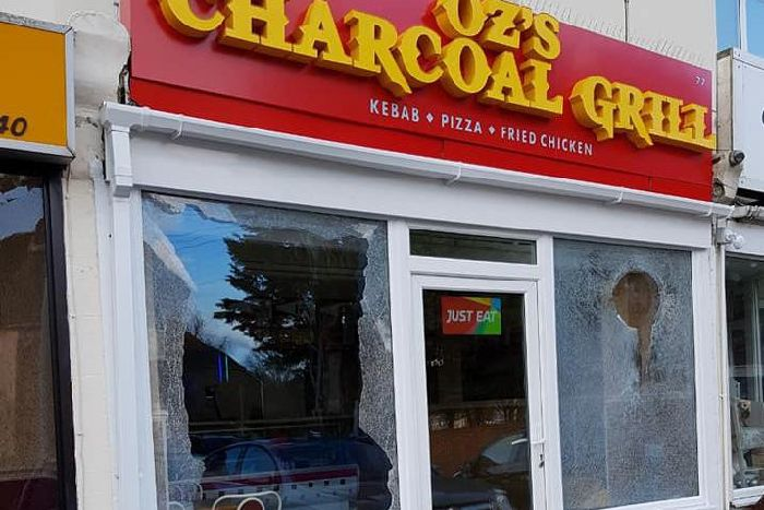 cb6e044e07 Appeal after windows damaged at three Worthing takeaways - Worthing ...