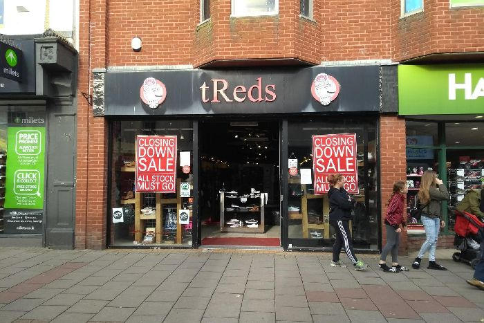 b29d7be2e640 Worthing store appears to launch closing down sale - days after ...