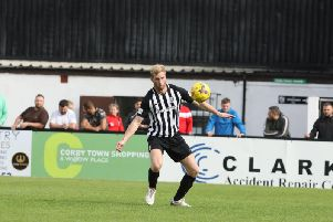 Corby Town joint-manager Gary Mulligan. Picture by Alison Bagley