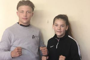 George Griffiths and Naomi Blankley will face more experienced opponents next month EMN-191009-182133002