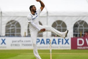Chris Jordan took three wickets without conceding a run / Picture: www.yasps.co.uk