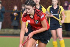 Sophie Mount was on target for Banbridge Academy.