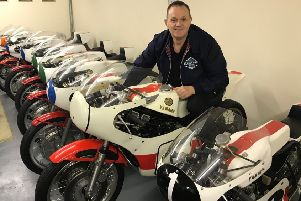 Phillip McCallen has put together the biggest line-up of classic racing machines ever seen in this country at Bishopscourt.