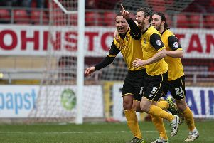 Cobblers enjoyed a memorable last visit to Orient - who could forget Rod McDonald's overhead kick?!