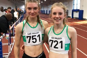 Rachel Laurie and Fleur Hollyer / Picture by Lee Hollyer