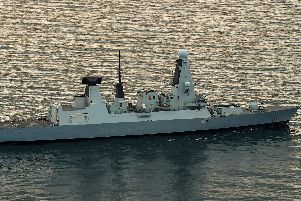 HMS Duncan is heading to the Gulf as tensions with Iran flare. Photo: LPhot Paul Hall