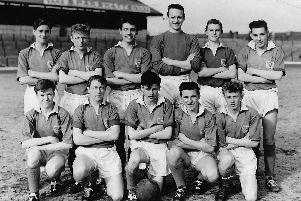 Pompey Schoolboys who played Guildford at Fratton Park in the English Schools Trophy  in 1959. Picture: Brian Carmichael  collection