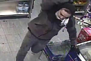 Police have released a CCTV image of a man they want to trace