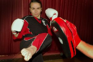 Kickboxing world champion Emmadee Fox is on the Everyone Active Sporting Champions scheme EMN-200218-191558002