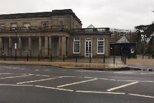 The caf at the Royal Pump Rooms in Leamington