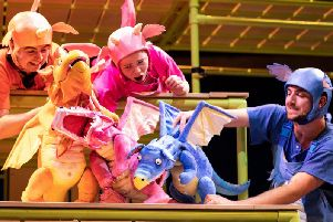 The cast of Zog. Picture: Helen Maybanks