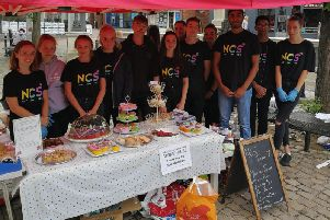 Action4Youth cake sale in Aylesbury