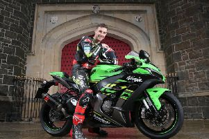 Jonathan Rea pictured at the Barbican Gate in Antrim. Rea is gunning for a record fifth World Superbike title in 2019. Picture: Stephen Davison/Pacemaker Press.