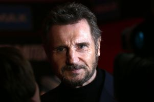 Liam Neeson admitted that he harboured violent thoughts about killing a black person after someone close to him was raped. Pic by Laura Hutton/PA Wire