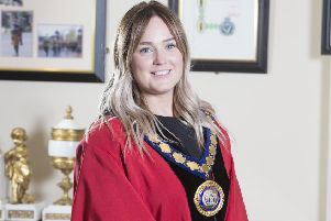Deputy Mayor DUP councillor Cheryl Johnston.