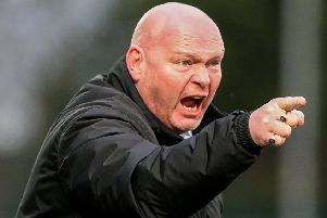 Ballymena United boss David Jeffrey will be looking for his side to win the BetMcLean League Cup tomorrow