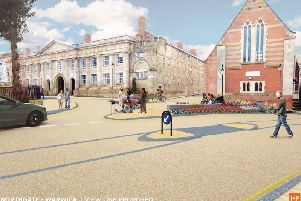 What the proposed Northgate changes could look like. Images supplied by Warwickshire County Council