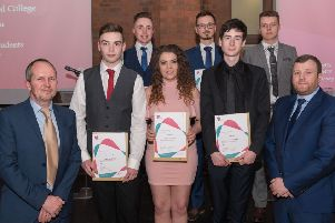 A group of the Northern Regional College Information Technology students are pictured at the 2019 Career Ready Graduation Ceremony.